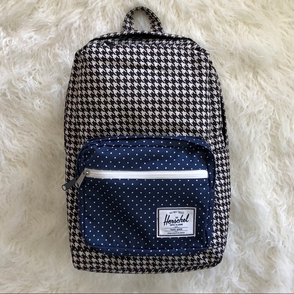 Herschel Supply Company Handbags - Herschel Houndstooth and Polka Dot  Backpack a2c79597a5755